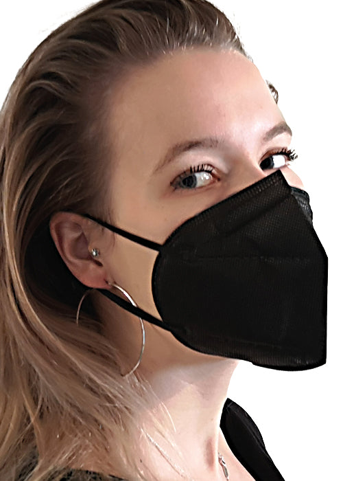 Black Elegant Carbon, 20 Masken Einzelpacks XIQUE