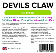 Devils Claw Formula Tablets (90 pack) - Authentic Vitamins