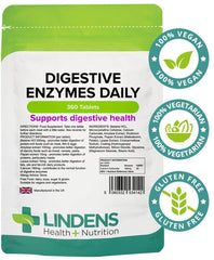 Digestive Enzymes Daily Tablets (360 Tablets) - Authentic Vitamins