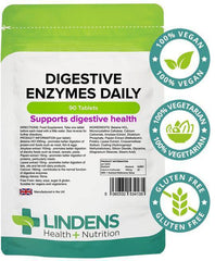 Digestive Enzymes Daily Tablets (90 pack) - Authentic Vitamins