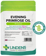 Evening Primrose Oil 1000mg Capsules (90 pack) - Authentic Vitamins