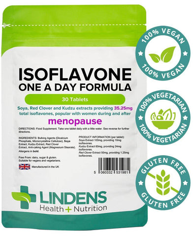Isoflavone Formula (Soya+) Tablets (30 pack) - Authentic Vitamins