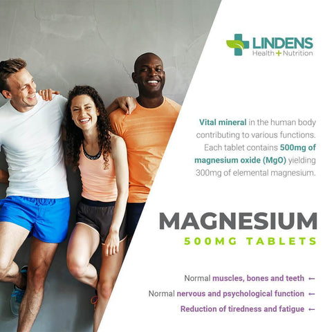 Magnesium Tablets (MgO 500mg) (500 pack) - Authentic Vitamins