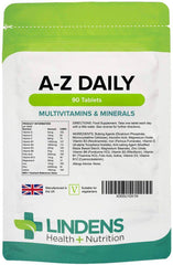 Multivitamin A to Z Daily Tablets (90 pack) - Authentic Vitamins