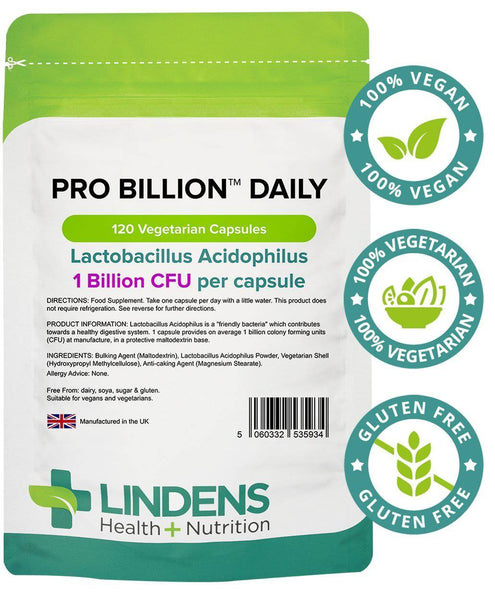 Pro Billion Daily 120 Capsules - Authentic Vitamins
