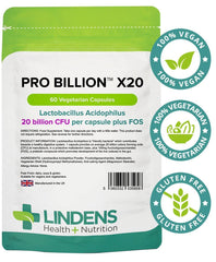 Pro Billion X20 60 Capsules - Authentic Vitamins