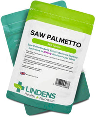 Saw Palmetto 500mg Tablets (365 pack) - Authentic Vitamins