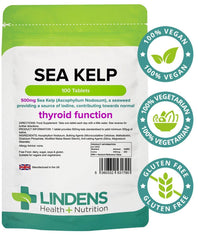 Sea Kelp 500mg Tablets (100 pack) - Authentic Vitamins