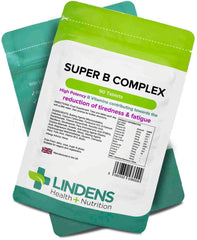 Super Vitamin B Complex (with probiotics) Tablets (90 pack) - Authentic Vitamins