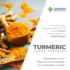 Turmeric (Whole Root Caps) 500mg with Black Pepper and Copper (100 pack) - Authentic Vitamins
