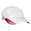 Grid Race Hat | White/Red/Black-Headsweats