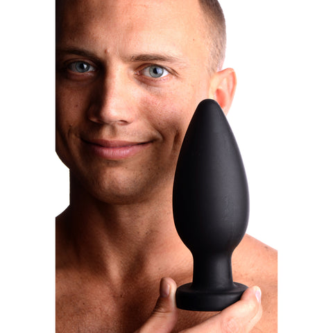 Colossus XXL Silicone Anal Suction Cup Plug