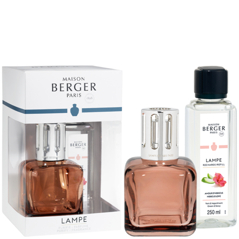 Coffret lampe Berger Glaçon – Rose ambré - Maison Berger Paris