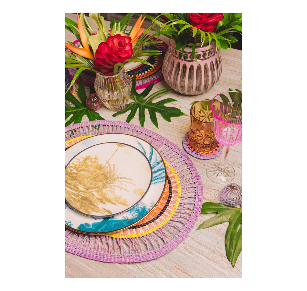 "Oval ""Pasteles"" Placemat (Set of 4 units)"