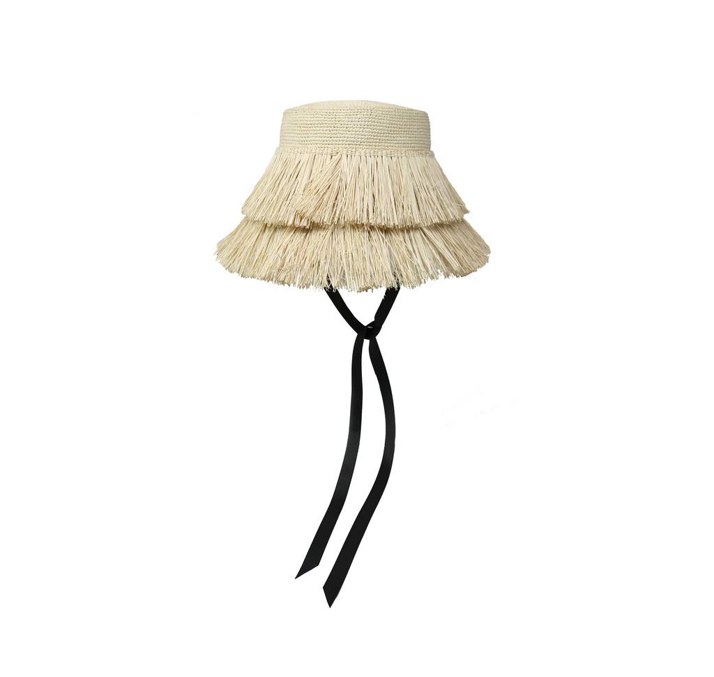 Frayed Lampshade