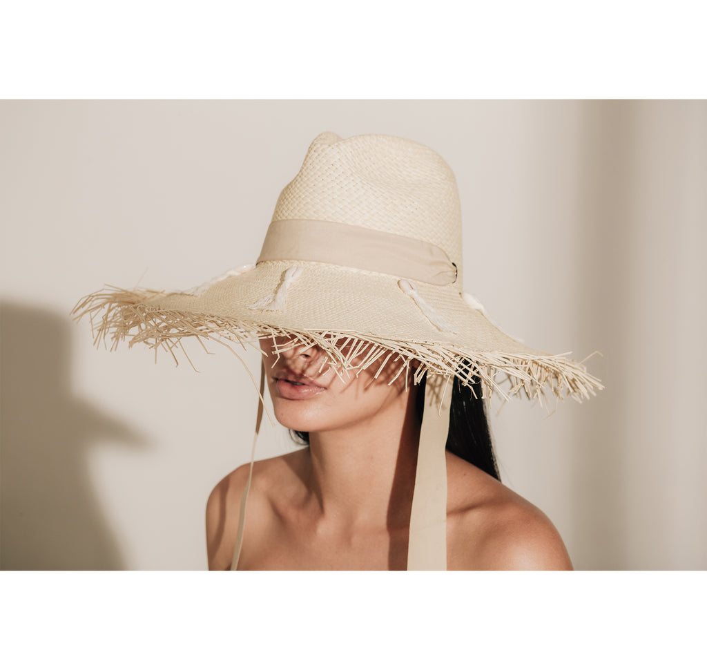 Frayed Panama Hat