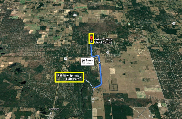 1.19 acre lot Close To HWY40 and 41-Minutes to Rainbow Springs State Park