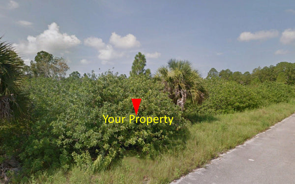 Great Investment! .25 Acre Lot on Paved Road Near FL-82