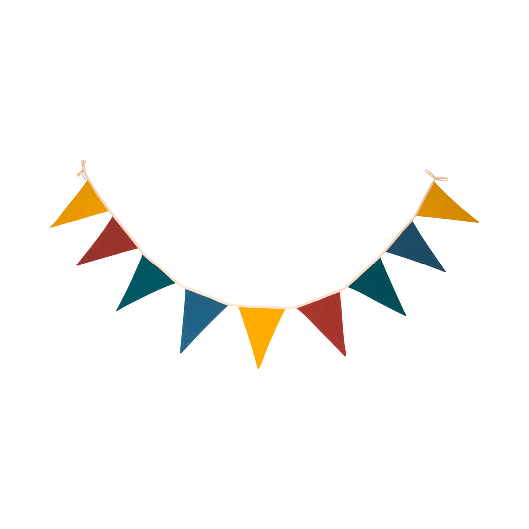 Cotton Garland / Bunting - bright