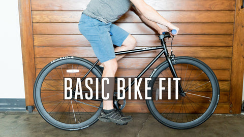 Basic Bike Fit