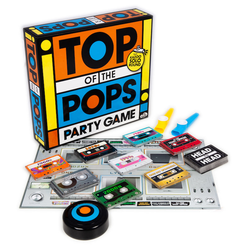 Top of the Pops game contents