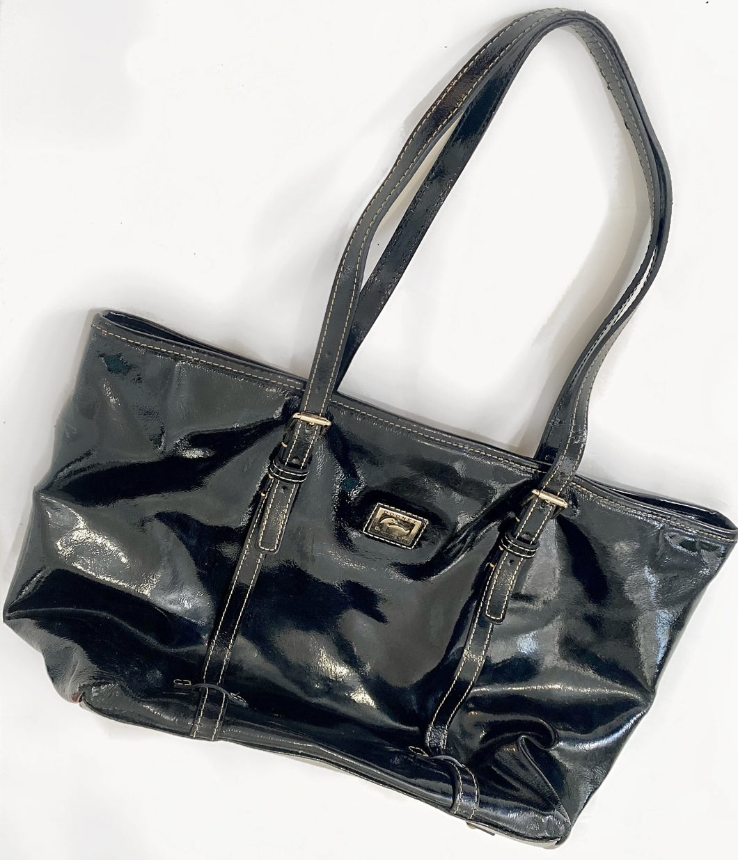 Dooney & Burke Patent Leather Tote