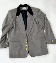 Load image into Gallery viewer, Gold Button Vintage Blazer