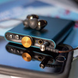 iFi hip-dac - Portable Balanced DAC Headphone Amplifier for Android, iPhone with USB Input Only/Outputs: 3.5mm Unbalanced / 4.4mm Balanced - Joe Audio