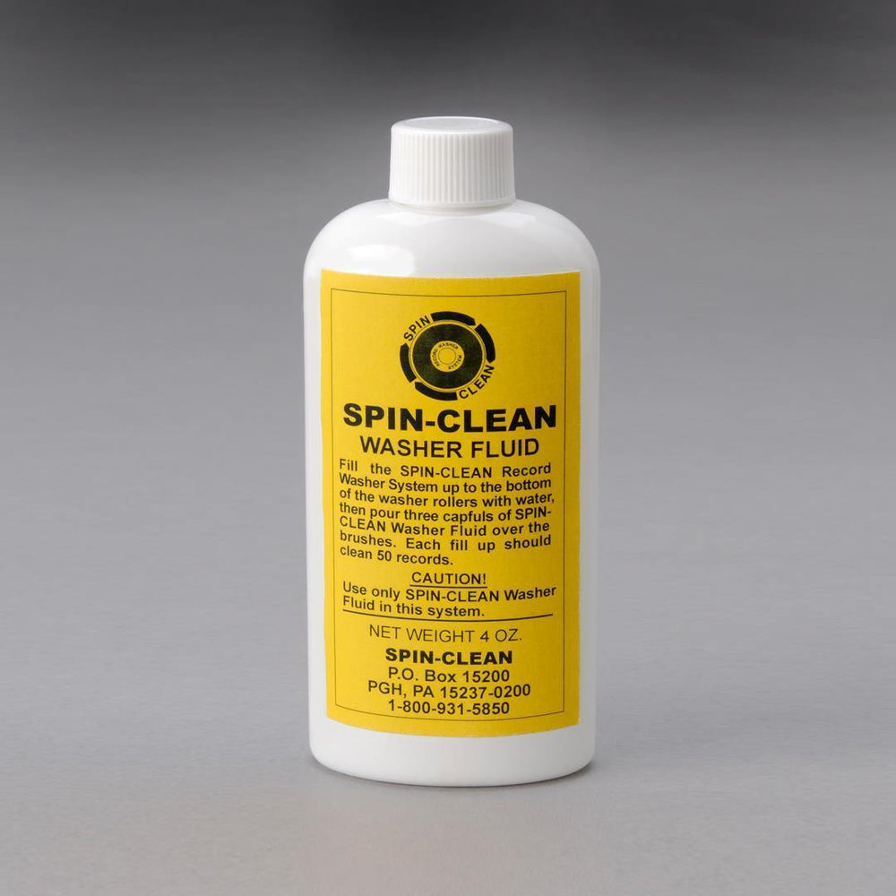 Spin Clean Washer Fluid
