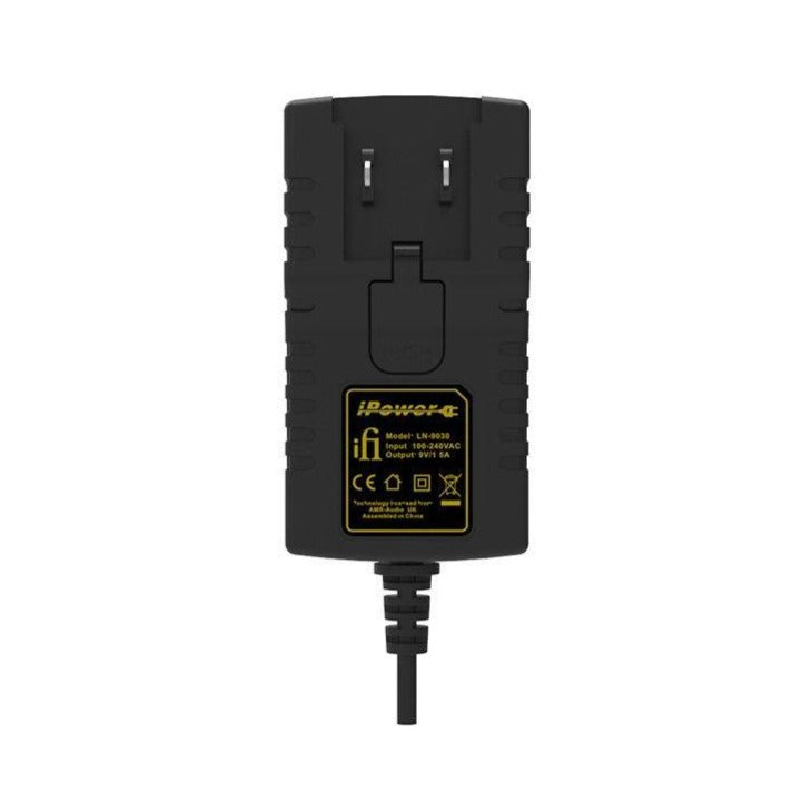iFi iPower Low Noise DC Power Supply with International Travel Adapters - Joe Audio