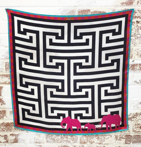 Matriarch Silk Scarf - The Fort - TX