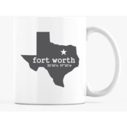Fort Worth Star of Texas Mug - The Fort - TX