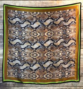 Venom Silk Scarf - The Fort - TX