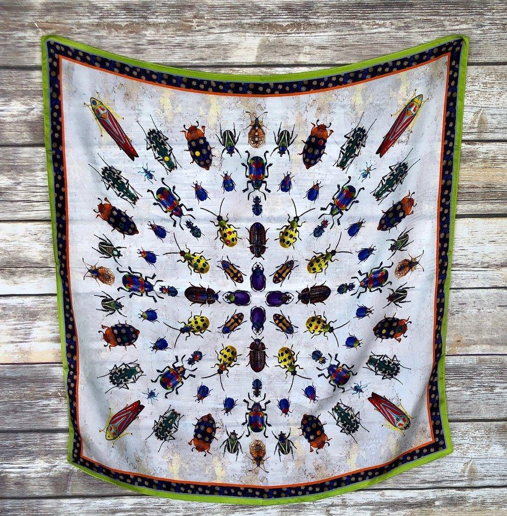 Don't Bug Me Silk Scarf - The Fort - TX