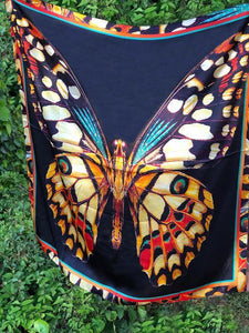 Mariposa Silk Scarf - The Fort - TX
