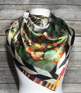 MisCHIEFious Silk Scarf - The Fort - TX