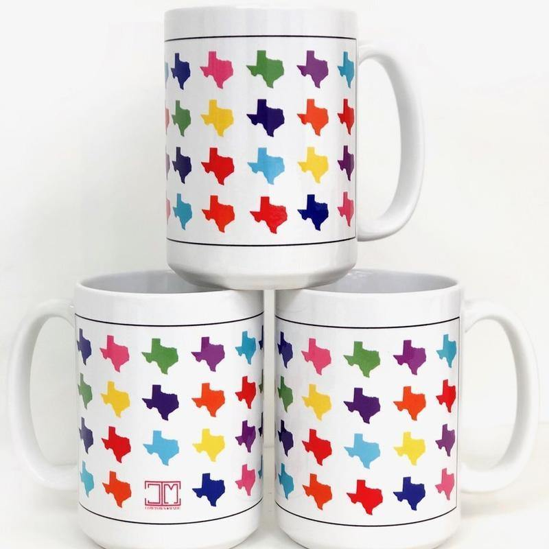 Texas Rainbow Mug - The Fort - TX