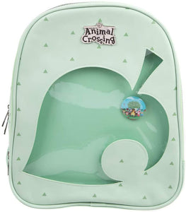 Animal Crossing Leaf Ita Backpack with Removable Pin