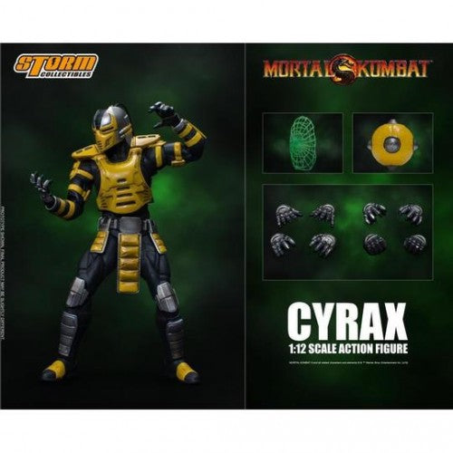 Storm Collectibles Mortal Kombat Cyrax 1/12 Scale Figure