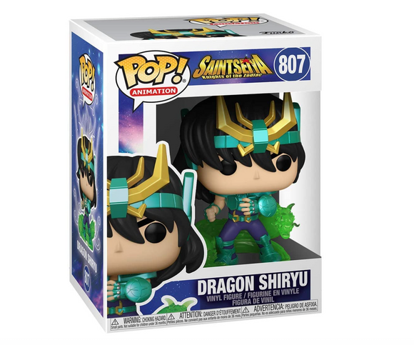 Saint Seiya Funko Pop Dragon Shiryu