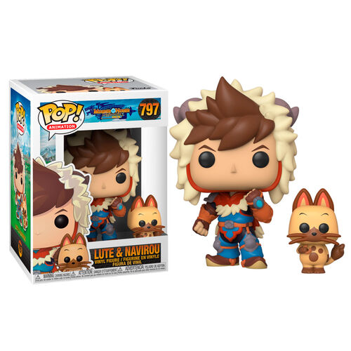 Monster Hunter Lute & Navirou Funko Pop