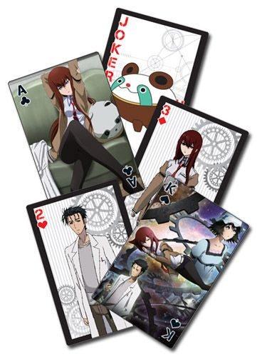 Steins;Gate Playing Cards