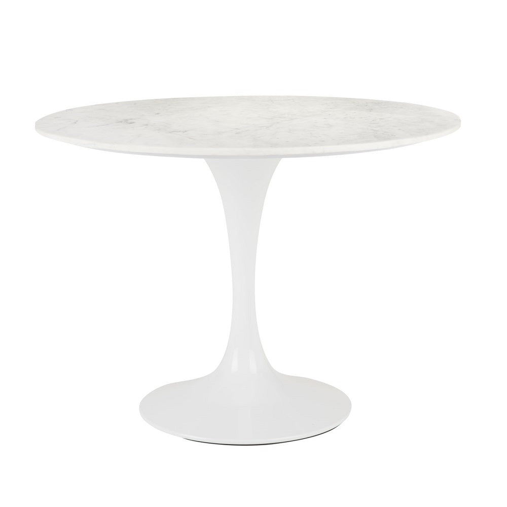 PB-11KYR Round Dining Table-Marble