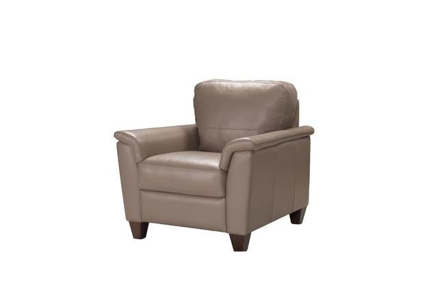 BELFAST Leather Chair-Palma-Brava