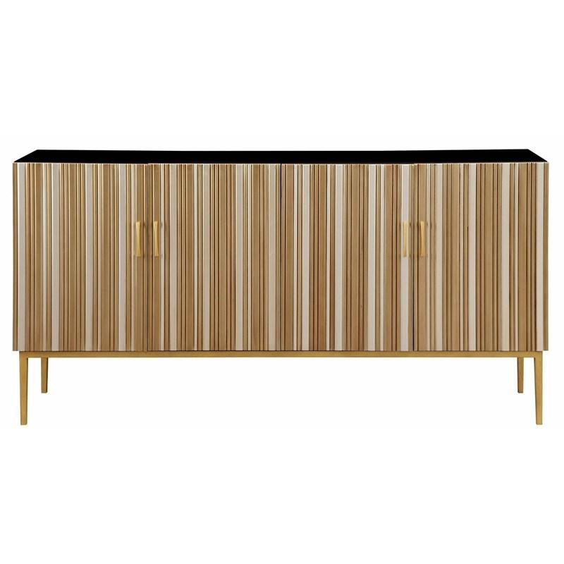 PB-04-36555 Four Door Media Credenza