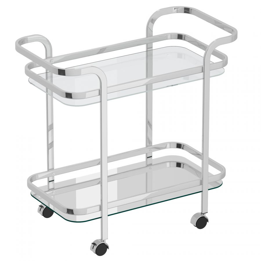 PB-07ZED 2 Tier Bar Cart