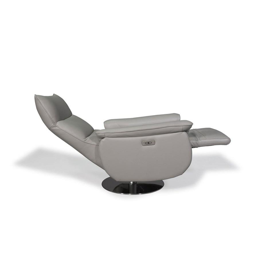PB-26 Aston Leather Recliner-Palma-Brava