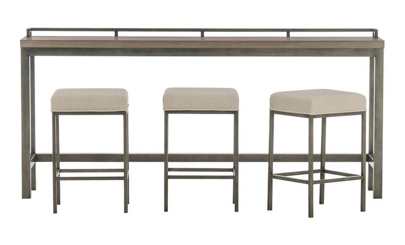PB-01MITCH-749 Console Table with 3 Stools-Palma-Brava