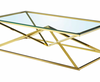 PB-22NAR Gold Coffee Table-Palma-Brava