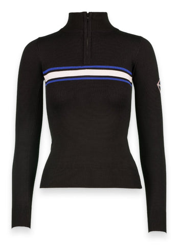 1/4 Zip Turtleneck Ski Sweater